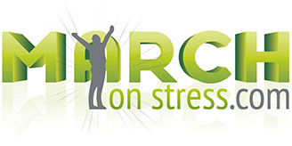 Logo for March on Stress